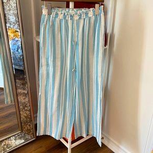 NWOT Joie beach side slit pants